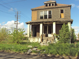 Abandoned house in Detroit
