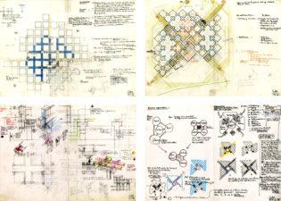 schetsen Centraal Beheer / Herman Hertzberger