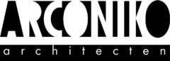 Arconiko architecten logo
