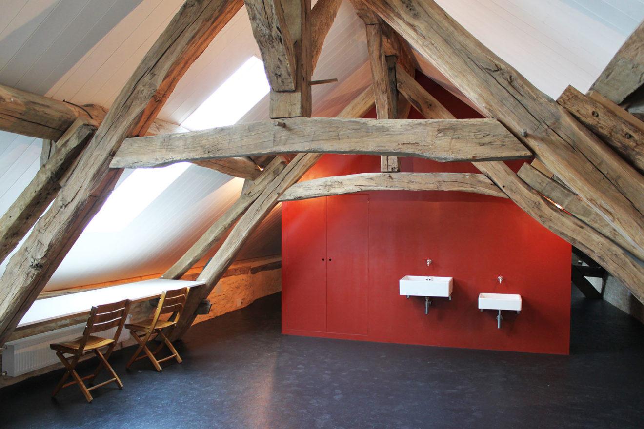 Vakantiehuis Bourgogne atelier