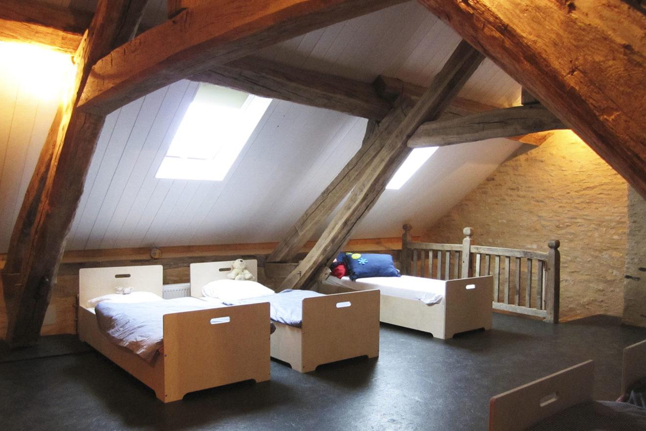 Vakantiehuis Bourgogne slaapzolder