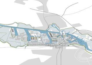 Waterbestendig Westpoort, overzichtskaart
