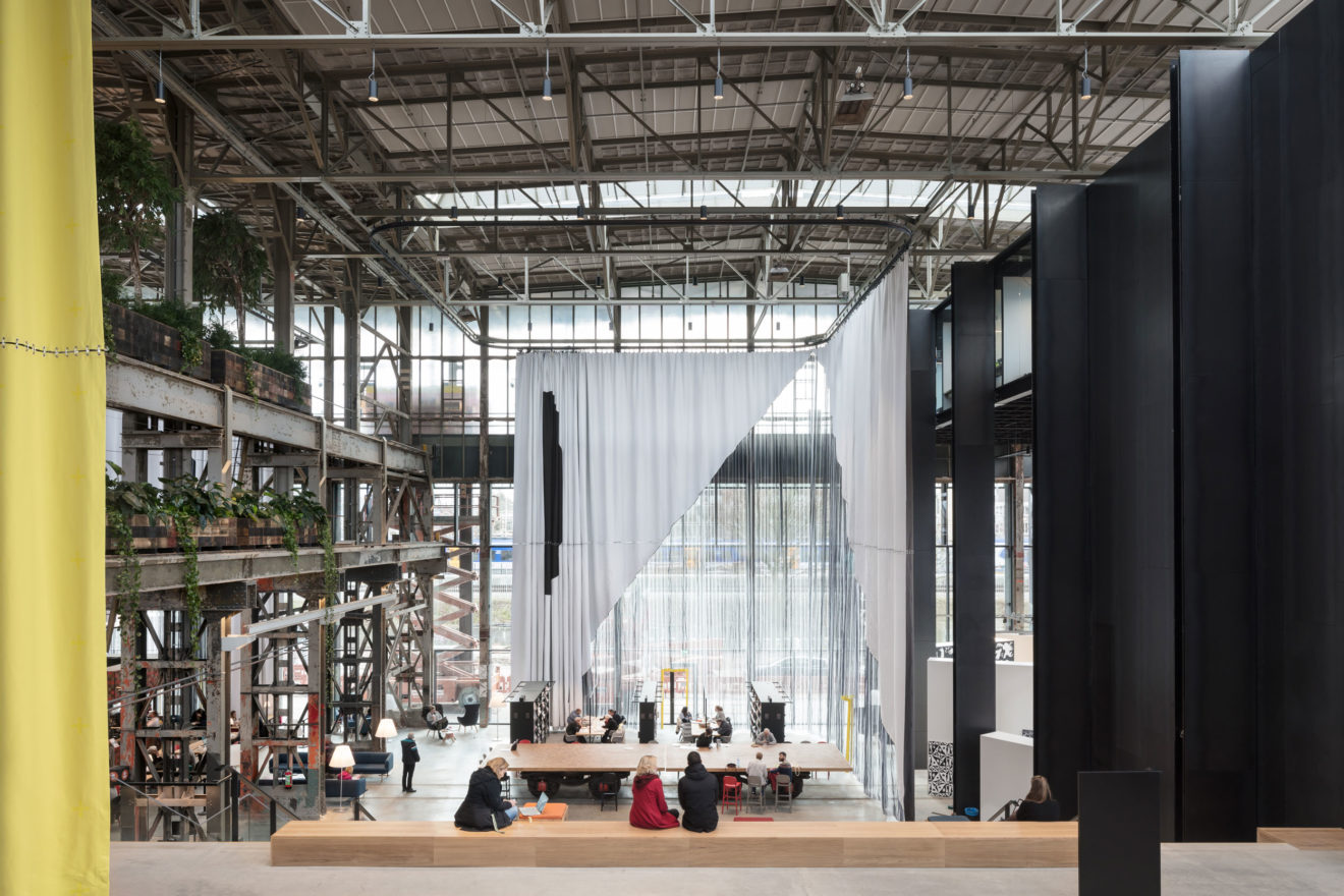 Civic Architects_Lochal Library Tilburg_Textile Chamber