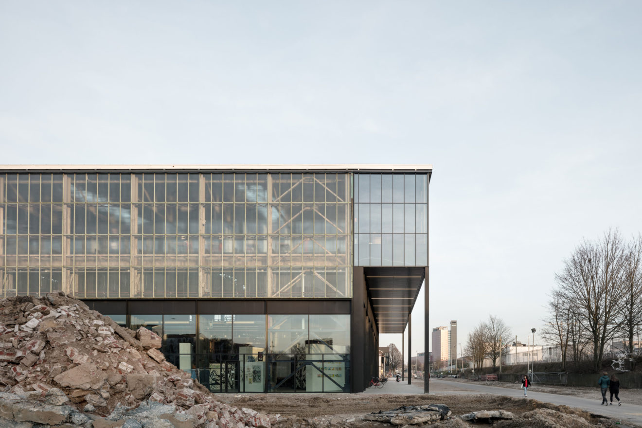 Civic Architects_Lochal Library Tilburg_West Facade