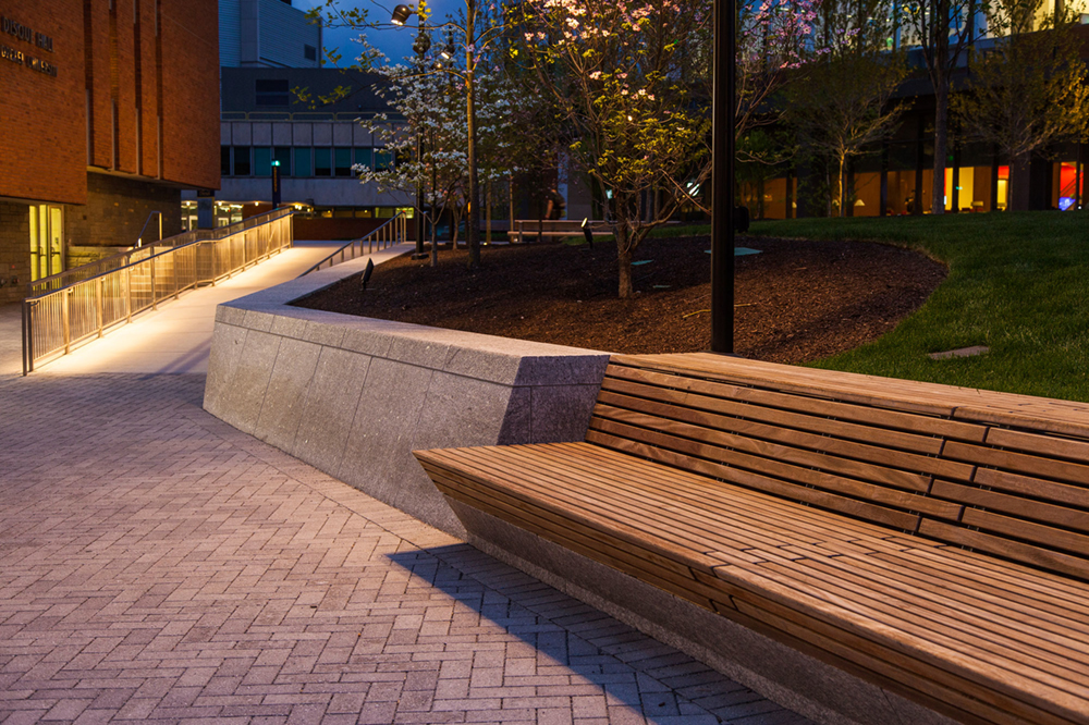 Wood Top System at Perelman Plaza (Philadelphia) by Streetlife, photo by BarrettDoherty
