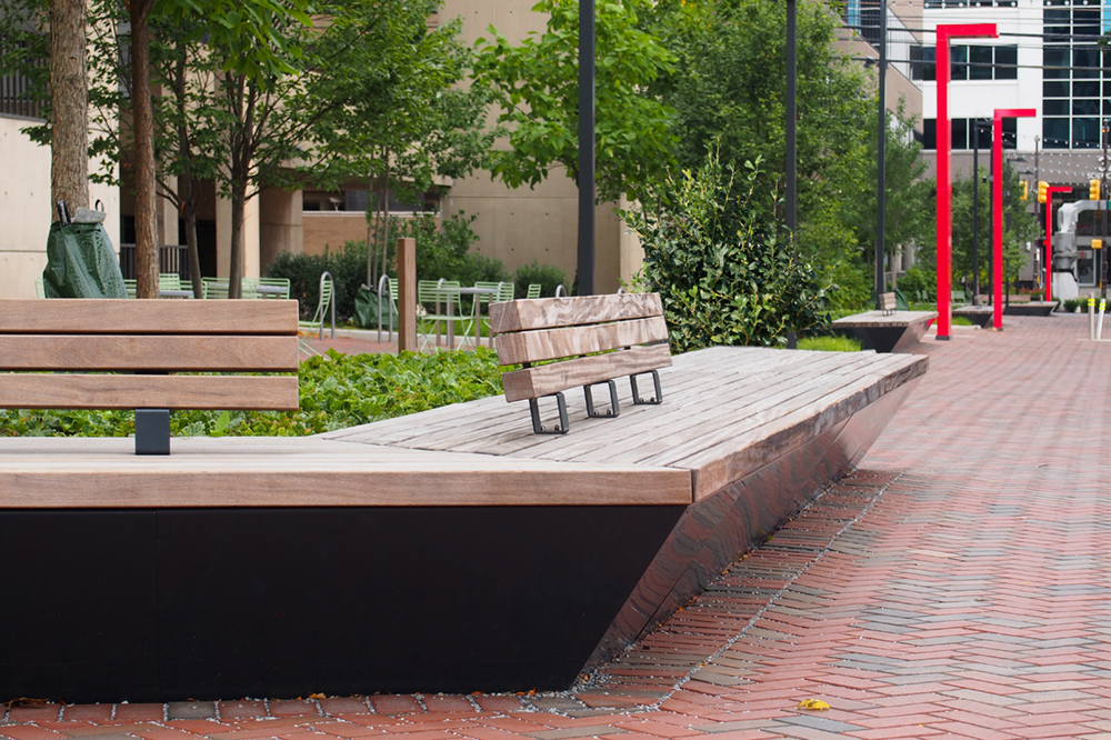 Solid Edge System at Perelman Plaza (Philadelphia) by Streetlife, photo by BarrettDoherty