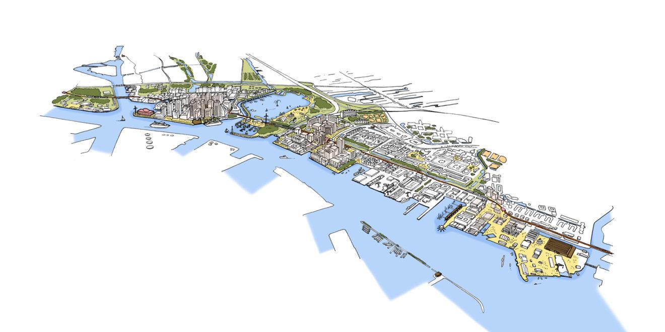 Schets van de inclusieve stad - project ZaanIJ