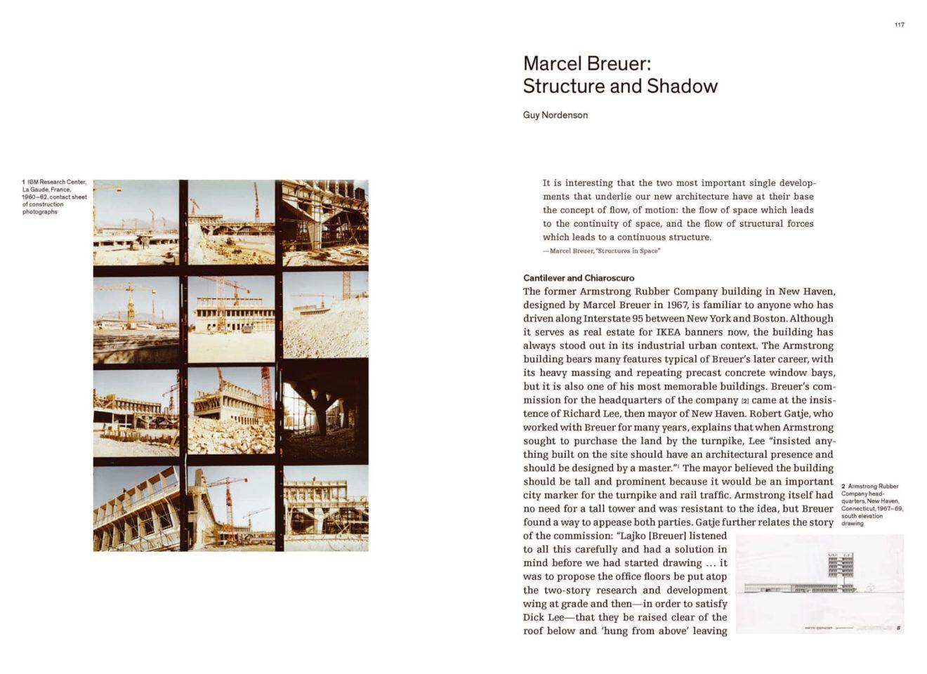 Spread uit Marcel Breuer: Building Global Institutions