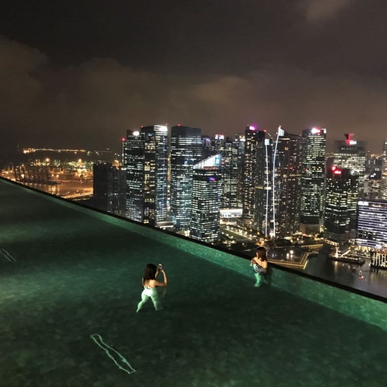 Infitity pool Singapore