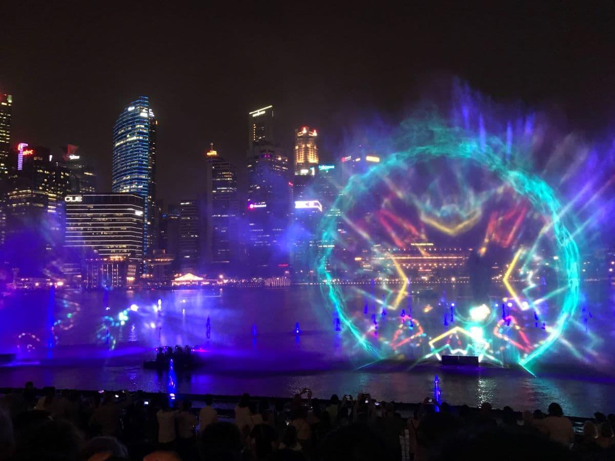 lichtshow Singapore
