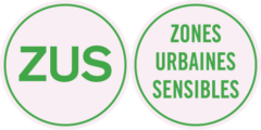 ZUS Zones Urbaines Sensibles logo