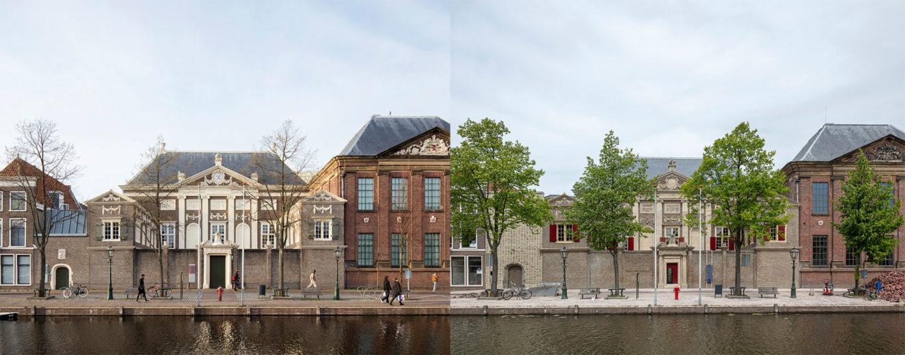 Museum De Lakenhal, Leiden voor en na de verbouwing door HCVA