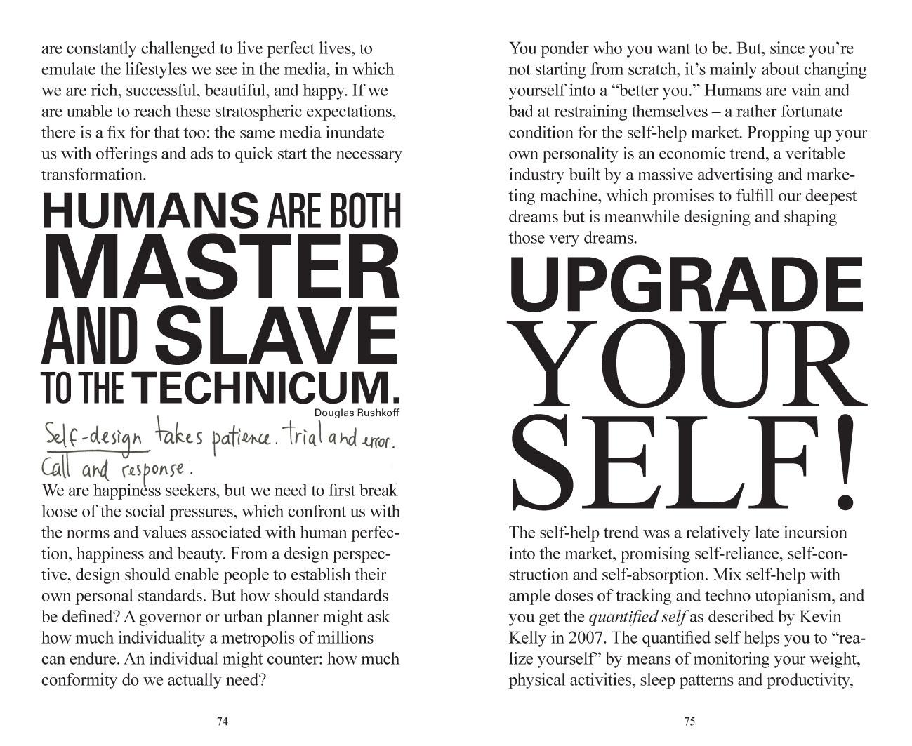 spread uit Amsterdam design manifesto