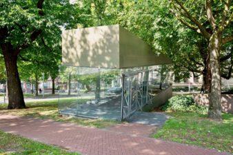 Wim Warrinks interventie van het Tschumipaviljoen, Groningen