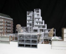 maquette afstudeerproject Expeditie Rotterdam van Hedwig van der Linden