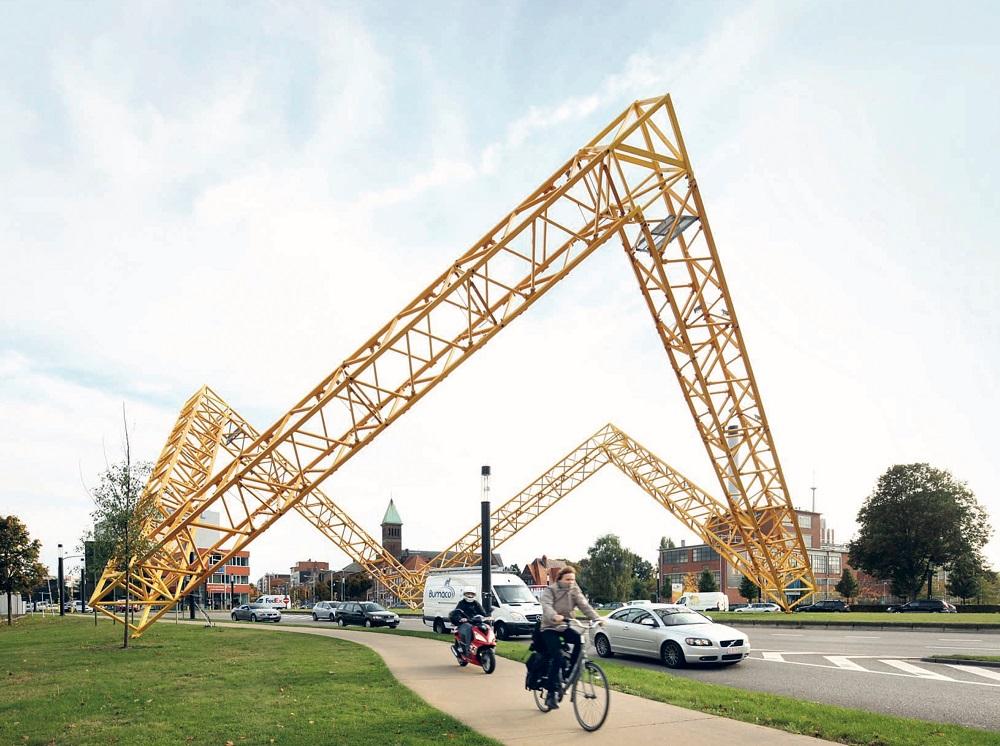 Framework, kunstwerk van Gijs van Vaerenbergh