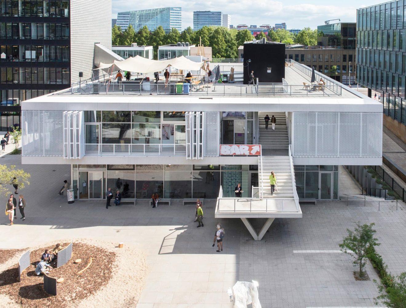 Het nieuwe Rietveld-Sandberg academiegebouw