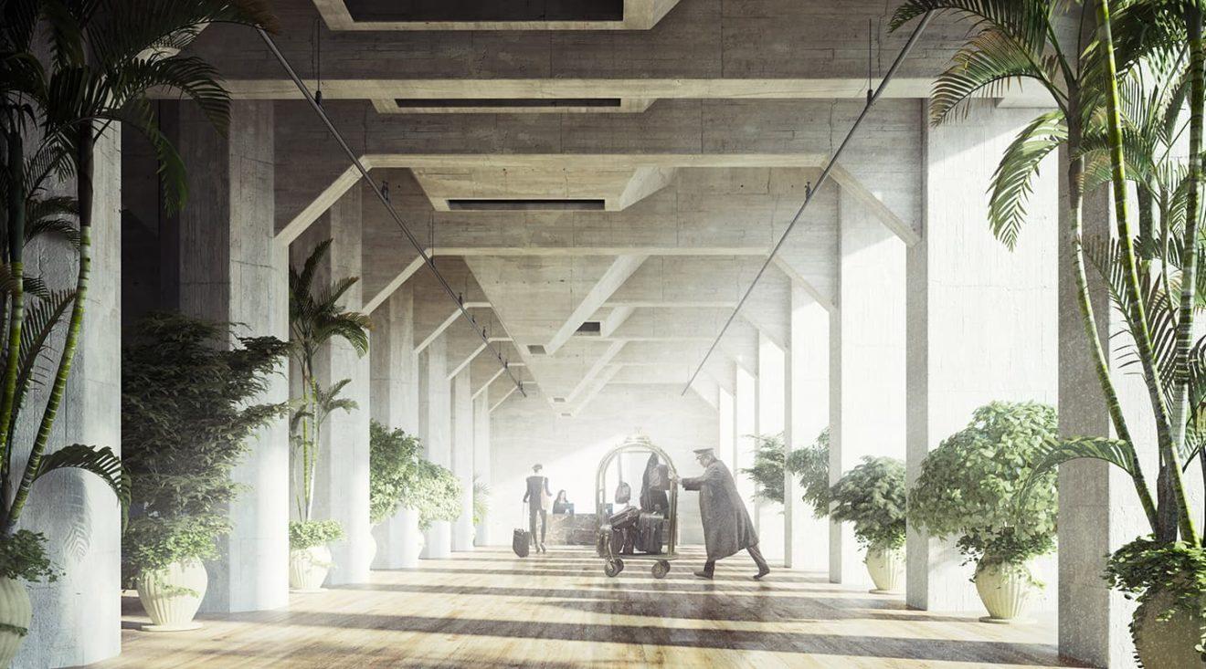 Rendering Silo-gebouw / ontwerp Studio Akkerhuis