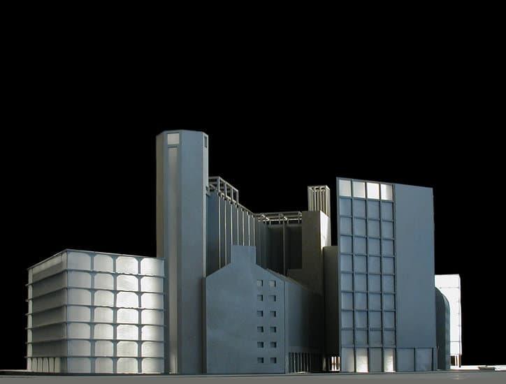 De Meelfabriek / maquette Peter Zumthor