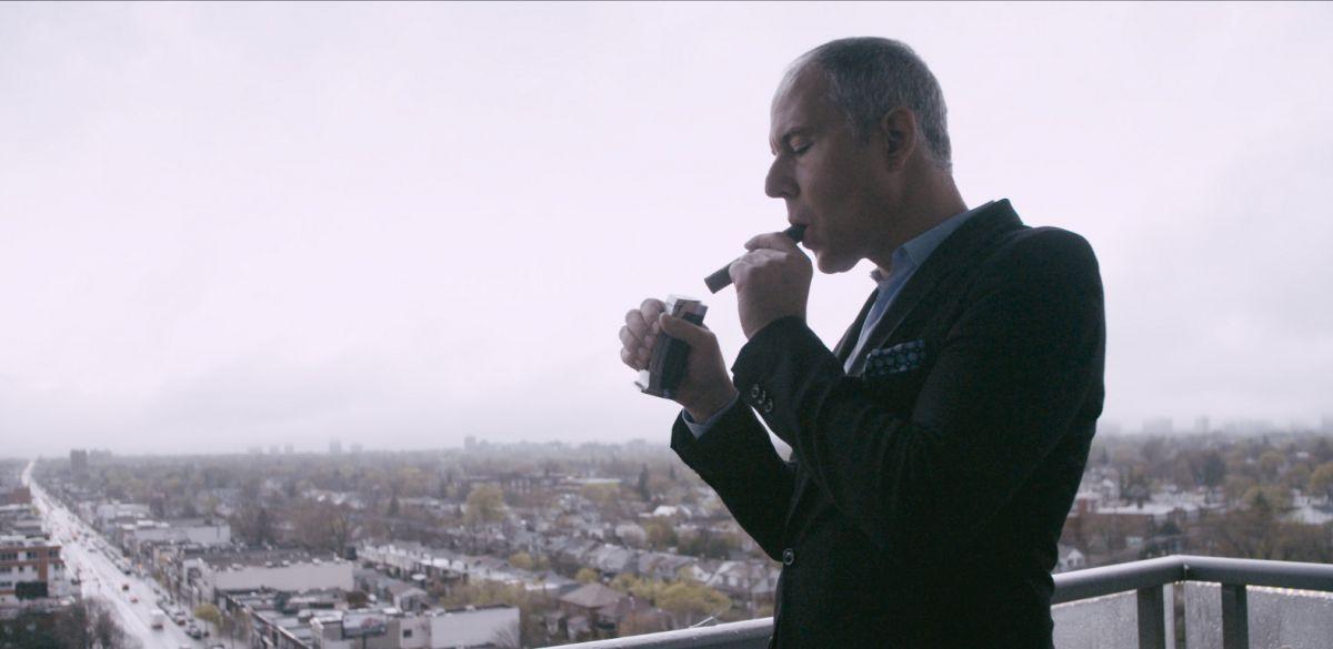 Bad guy in de documentaire Push (still uit de film)