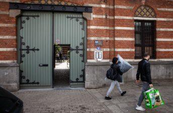 entree Haringrokerij, Antwerpen