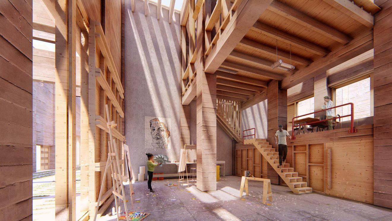 Interieur Atelierwoning