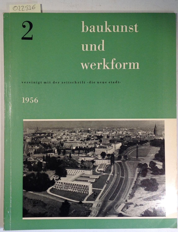 cover bau und werkform 1956
