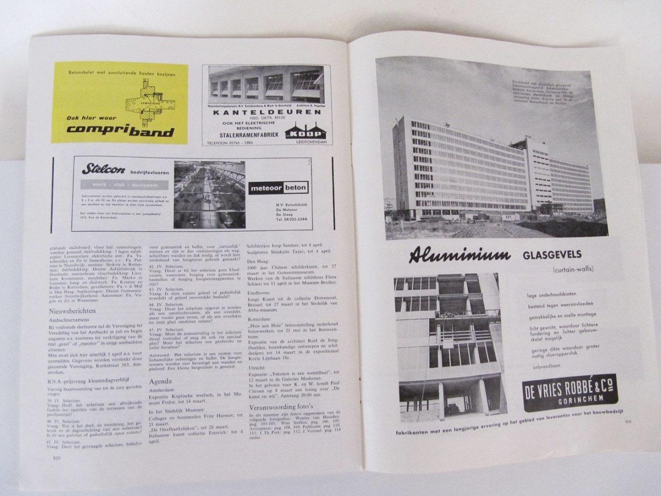 spread bouwkundig weekblad 1960