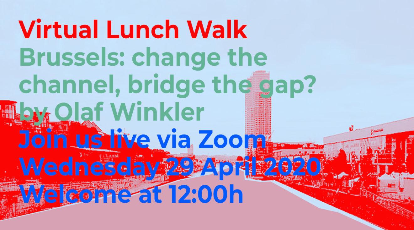 Lunch Walk Brussels