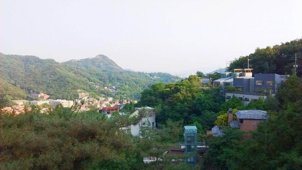 zicht op Seoul