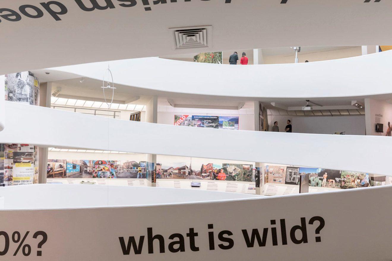 beeld tentoonstelling Countryside The Future in het Guggenheim