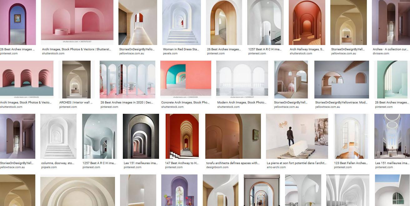 printscreen google search arches architecture contemporaine