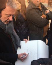 Milaan 2017, excursie van Christian met studenten van de architectuuracademie Maastricht