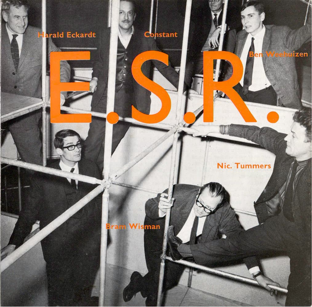 cover catalogus Experiment Studio Rotterdam