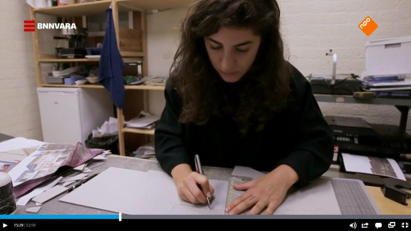 Still uit de documentaire Door de ogen van Arna / Frederick Mansell en Laurens Samsom, 2020