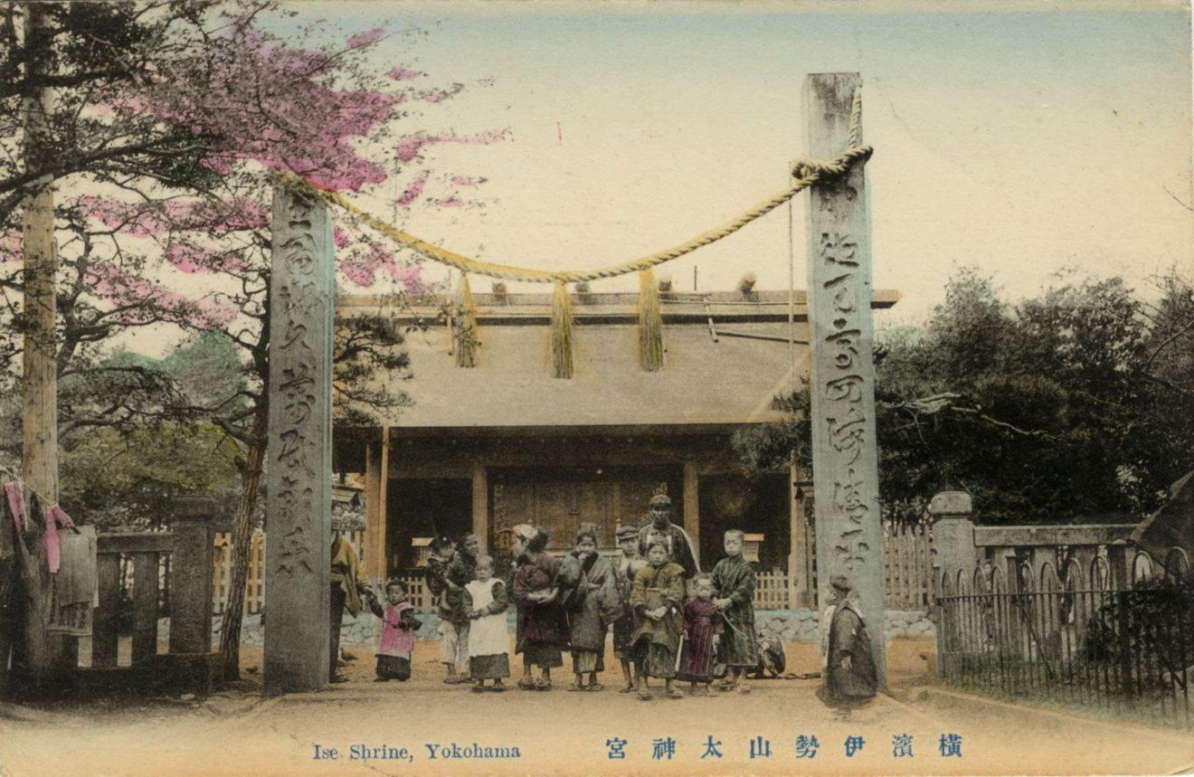 ise jingu tempel ca1910