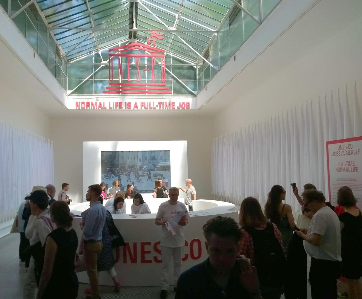Tsjechisch paviljoen op de architectuurbiënnale van Venetië 2018