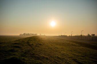 Gaswinlocatie langs de Middendijk boven Warffum Foto Dirk-Jan Visser
