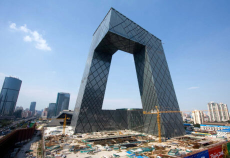 hoofdkantoor CCTV, Beijing China / OMA /