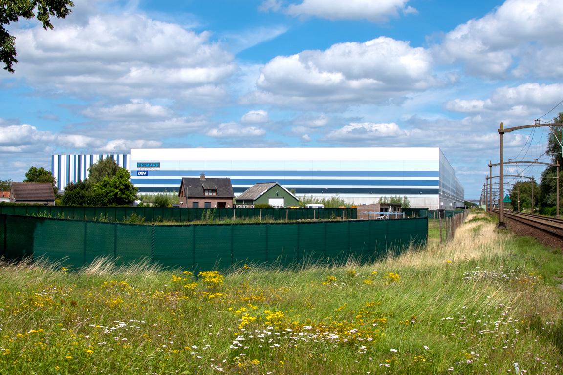 Primark / Logistiek bedrijventerrein Borchwerf in Roosendaal, 2020 / foto auteur