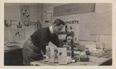 Theo en Nelly van Doesburg. Foto uit het archief Van Eesteren. Collectie Het Nieuwe Instituut, EEST10.1318