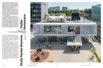 Spread uit het Architectuur in Nederland Jaarboek 2019/2020