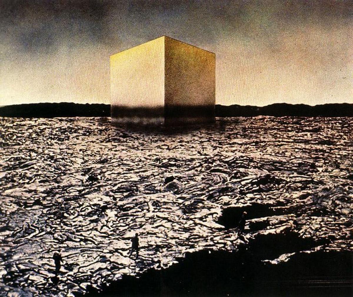 New York of Brains, 12 Ideal Cities, 1971 / Superstudio