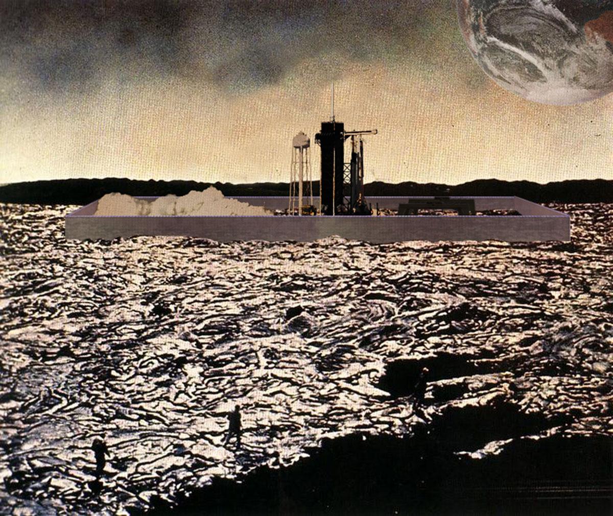 Anarres Quarantie Area, interpretatie van Ursula Le Guin's The Dispossessed / Jana Čulek, 2020