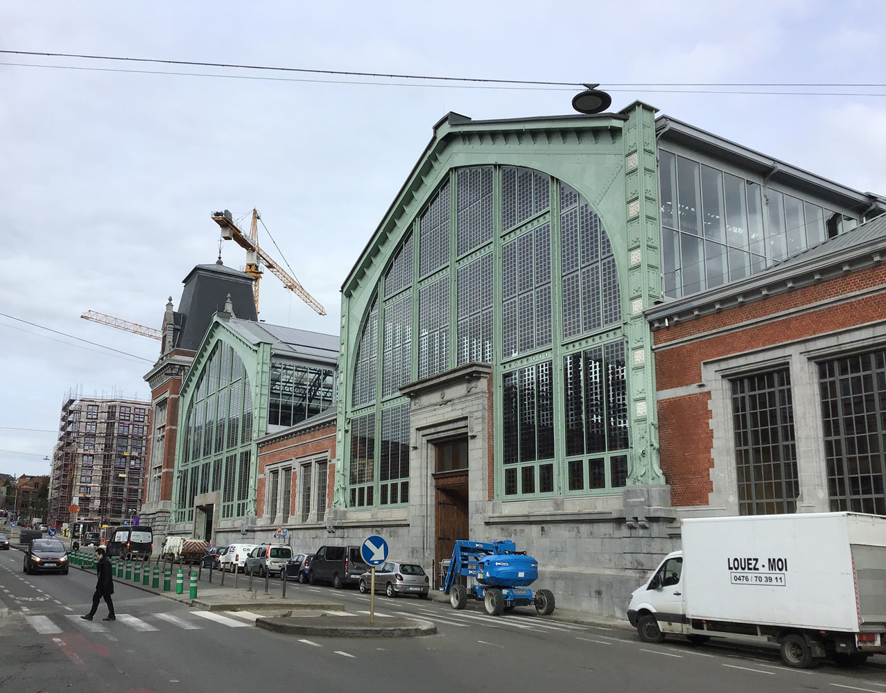 Gare Maritime in Brussel