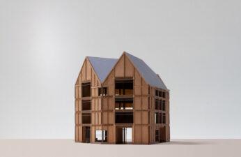 maquette gebouw 1:50