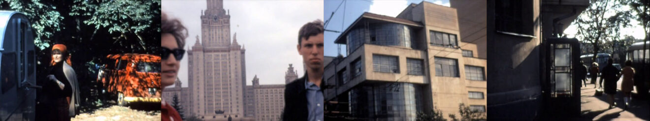 beelden uit een film van Jaap Bakema gemaakt tijdens een studiereis naar de Sovjet-Unie (1971)