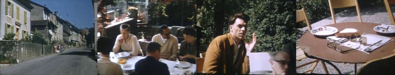 beelden uit een film van Jaap Bakema gemaakt in La Sarraz (1957)