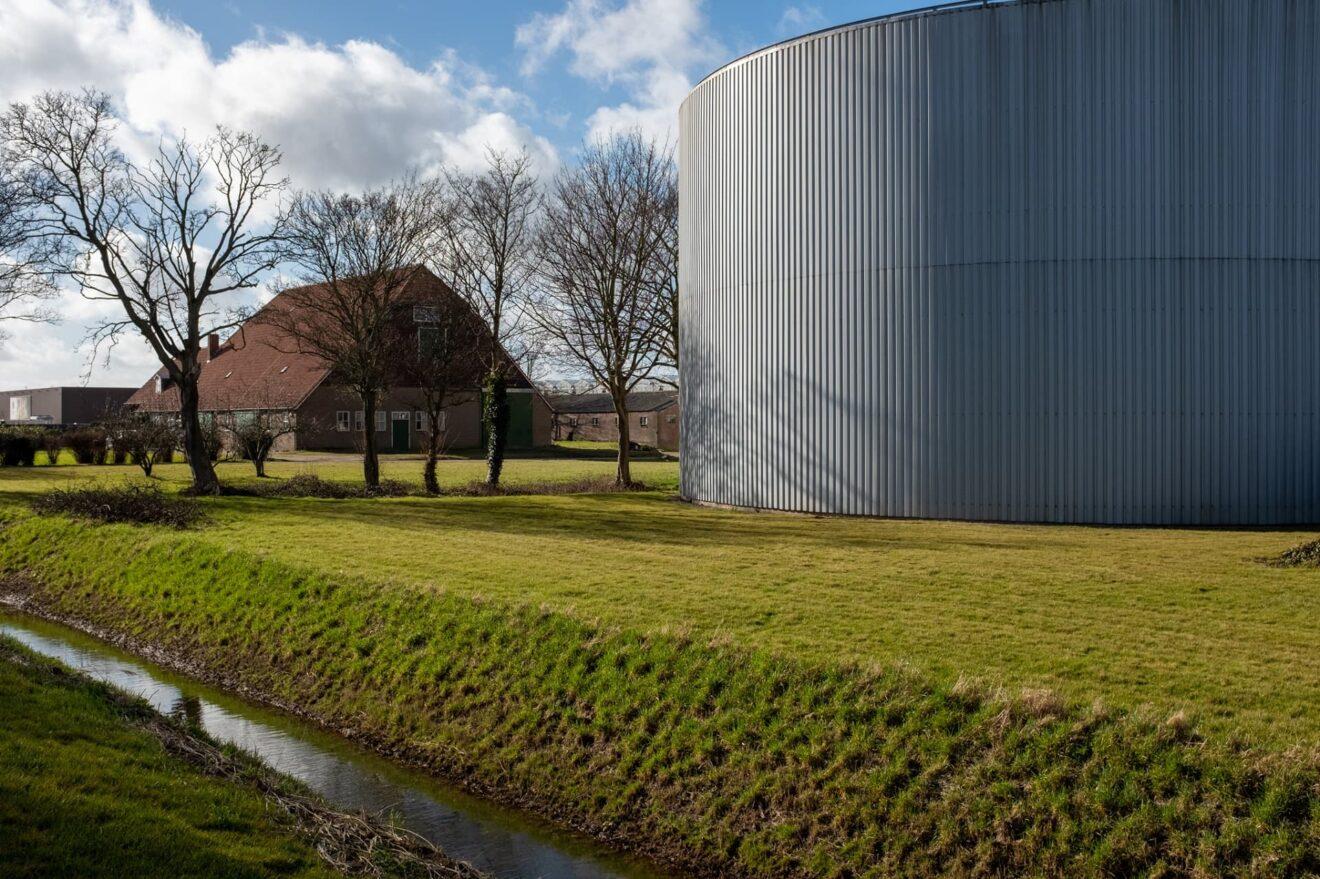 Oude polderboerderij