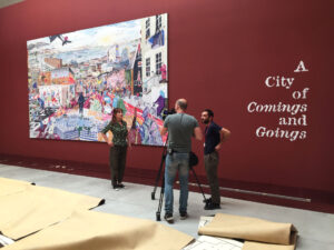 Tentoonstelling 'City of Comings and Goings' op de Biennale di Venezia, 2018